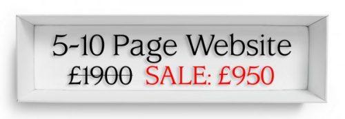 website sale 5 10